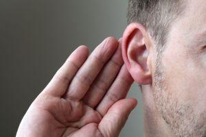 Hearing in ears